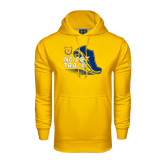 Under Armour Gold Performance Sweats Team Hoodie-Cross Country Sneaker