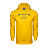 Under Armour Gold Performance Sweats Team Hood-Aggie Pride