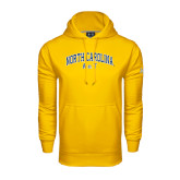 Under Armour Gold Performance Sweats Team Hood-Arched North Carolina A&T