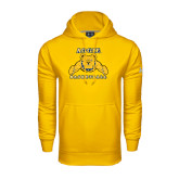 Under Armour Gold Performance Sweats Team Hood-Basketball