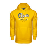 Under Armour Gold Performance Sweats Team Hood-AT-The Lock-Aggie Athletics Get Locked In