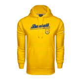Under Armour Gold Performance Sweats Team Hood-Baseball Bat