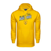 Under Armour Gold Performance Sweats Team Hood-Basketball Pride
