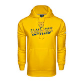 Under Armour Gold Performance Sweats Team Hood-Volleyball Can You Dig It