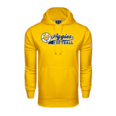 Under Armour Gold Performance Sweats Team Hood-Softball Script