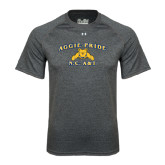 Under Armour Carbon Heather Tech Tee-Aggie Pride