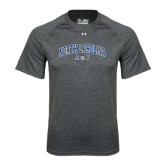Under Armour Carbon Heather Tech Tee-Arched North Carolina A&T