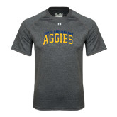 Under Armour Carbon Heather Tech Tee-Arched North Carolina A&T Aggies