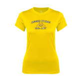 Ladies Syntrel Performance Gold Tee-Aggie Pride