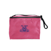 Six Pack Pink Cooler-NC A&T Aggies