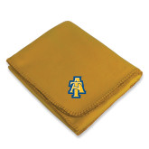 Gold Arctic Fleece Blanket-AT