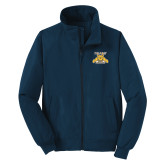 Navy Charger Jacket-NC A&T Aggies