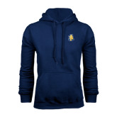 Navy Fleece Hoodie-AT