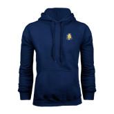 Navy Fleece Hood-AT