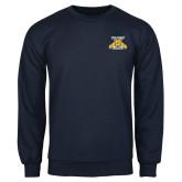 Navy Fleece Crew-NC A&T Aggies