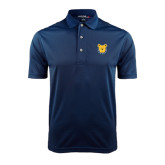 Navy Dry Mesh Polo-Bulldog Head