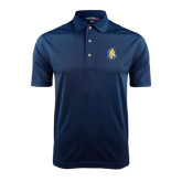 Navy Dry Mesh Polo-AT