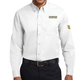 White Twill Button Down Long Sleeve-2017 Celebration Bowl
