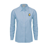 Ladies Light Blue Oxford Shirt-AT