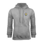 Grey Fleece Hood-AT