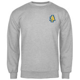 Grey Fleece Crew-AT
