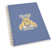 Clear 7 x 10 Spiral Journal Notebook-NC A&T Aggies