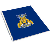 College Spiral Notebook w/Clear Coil-NC A&T Aggies