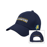 Navy Heavyweight Twill Pro Style Hat-Celebration Bowl Champions