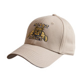 Khaki Heavyweight Twill Pro Style Hat-NC A&T Aggies