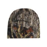 Mossy Oak Camo Fleece Beanie-AT