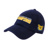 Navy Twill Unstructured Low Profile Hat-2017 Celebration Bowl