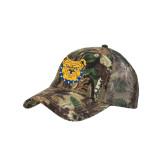Camo Pro Style Mesh Back Structured Hat-Bulldog Head
