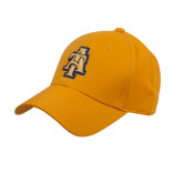 Gold Heavyweight Twill Pro Style Hat-AT