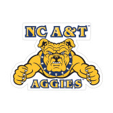 Small Magnet-NC A&T Aggies, 6 in W