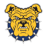 Large Magnet-Bulldog Head, 12 in W