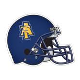 Football Helmet Magnet-AT, 11 1/2 in W X 8 3/4 in H