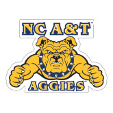 Extra Large Magnet-NC A&T Aggies, 18 in W