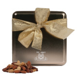 Deluxe Nut Medley Gold Medium Tin-NC A&T Aggies Engraved