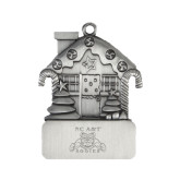 Pewter House Ornament-NC A&T Aggies Engraved