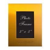 Gold Brushed Aluminum 3 x 5 Photo Frame-North Carolina A&T University Engraved
