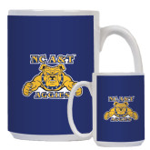 Full Color White Mug 15oz-NC A&T Aggies
