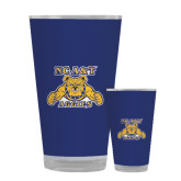 Full Color Glass 17oz-NC A&T Aggies
