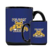 Full Color Black Mug 15oz-NC A&T Aggies