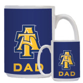 Dad Full Color White Mug 15oz-AT