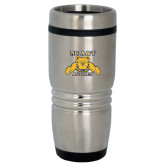 Rolling Ridges Silver Stainless Tumbler 16oz-NC A&T Aggies