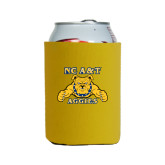 Collapsible Gold Can Holder-NC A&T Aggies