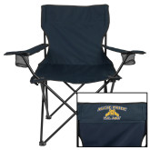 Deluxe Navy Captains Chair-Aggie Pride