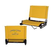 Stadium Chair Gold-Aggie Pride