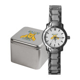 Ladies Stainless Steel Fashion Watch-NC A&T Aggies