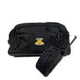 Urban Passage Wheeled Black Duffel-NC A&T Aggies